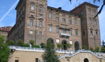 Una veduta del Castello di Agliè